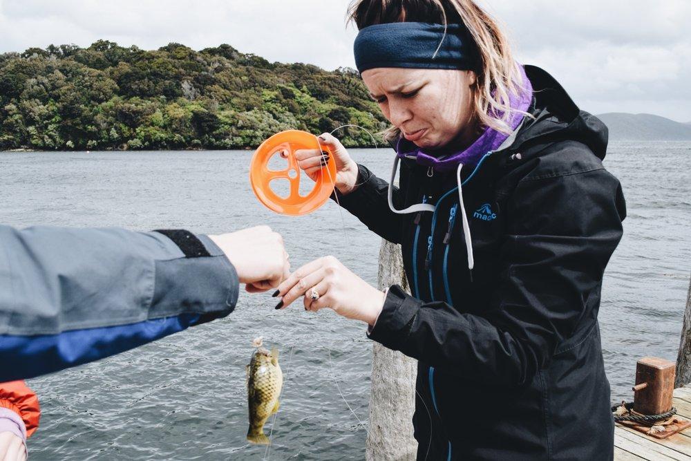 Caught a fish.JPG