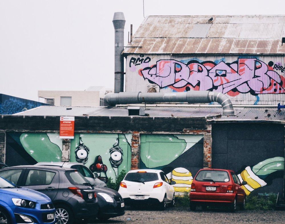 Wander Guide: Christchurch Street Art