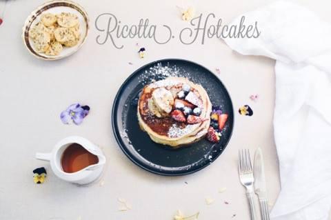 Granger & Co Ricotta Hotcakes