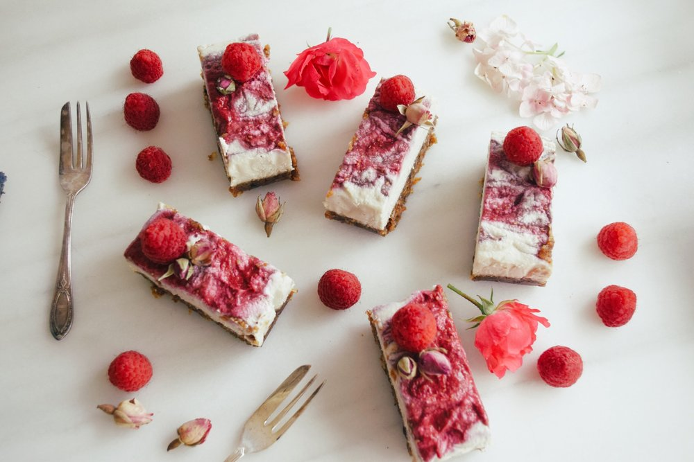 Refined sugar free vegan cheesecake