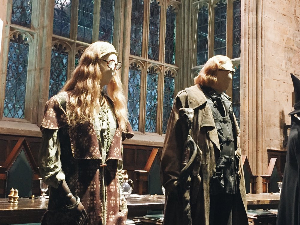 Harry Potter Studio Tour Professors
