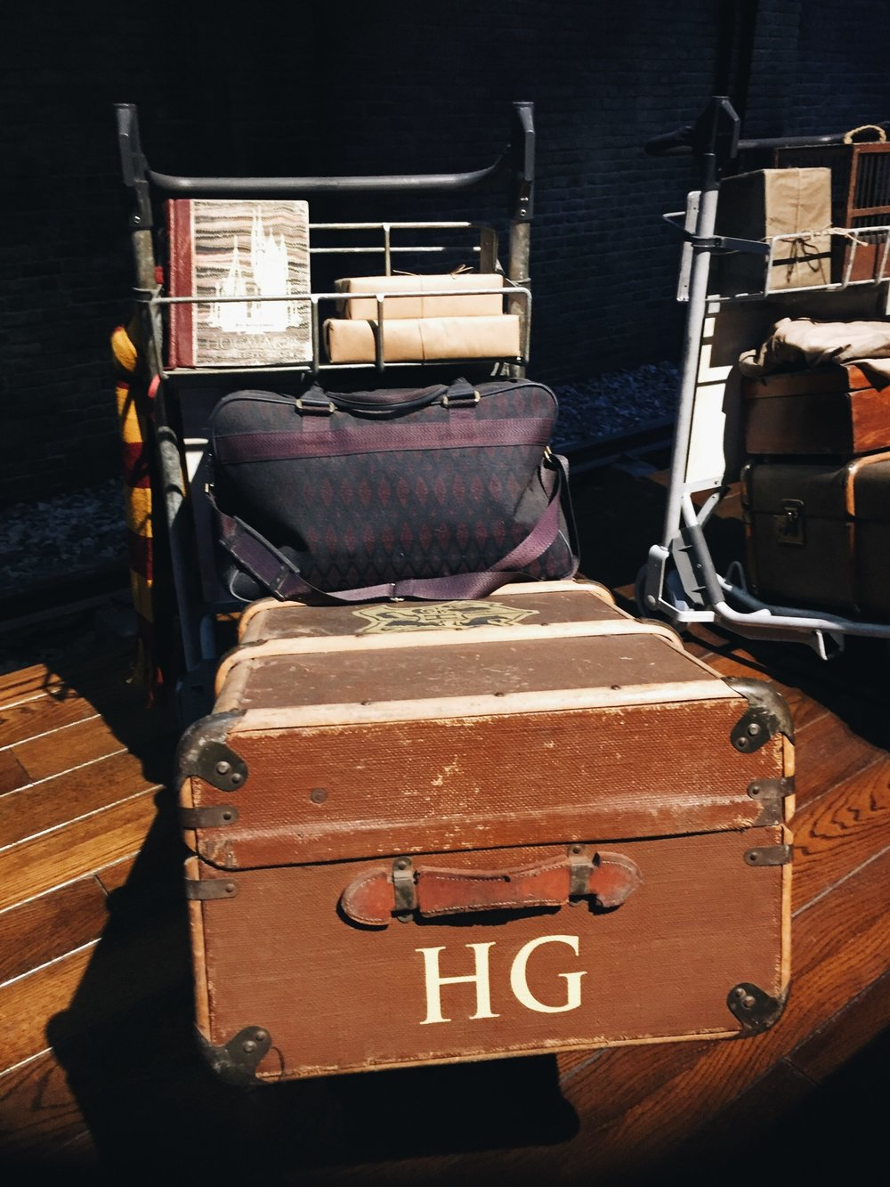 The Making Of Harry Potter: Warner Bros Studio Tour London Luggage