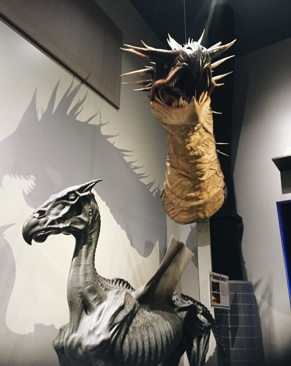 The Making Of Harry Potter: Warner Bros Studio Tour London Magical Creatures: Dragons