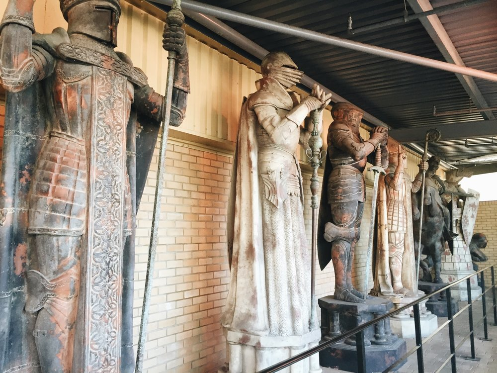 The Making Of Harry Potter: Warner Bros Studio Tour London Chess Pieces