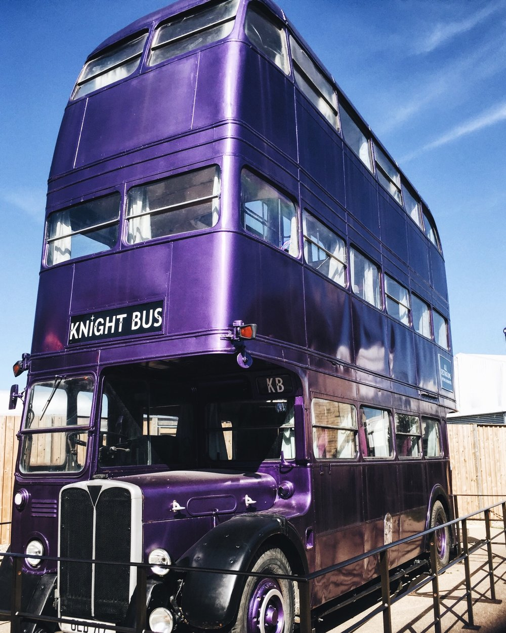 All aboard the Knight bus