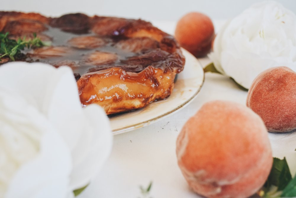 Caramel Peach Pie