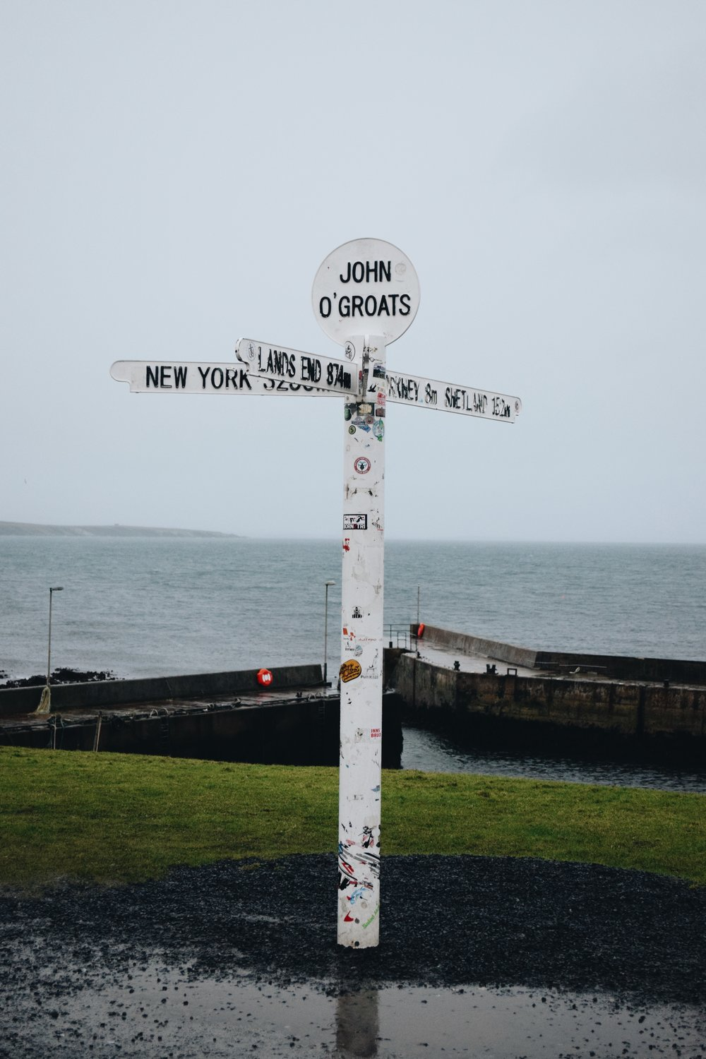 John O'Groats sign post