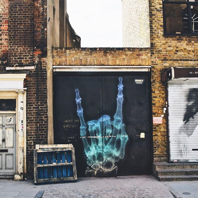 Shoreditch and the street art scapes #urbanscape #london🇬🇧