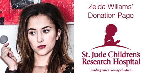 thefrogman: In the wake of her father's death, some very cruel people sent disturbing messages to zeldawilliams. I found out that she is trying to raise money for St. Jude Children's Hospital—a charity both her and her father have supported for a long time. I thought maybe it would be a nice gesture if we could send some love her way and also help some kids in the process. I think that would be a fitting tribute and it might counter the internet awfulness she had to endure. DONATE HERE!