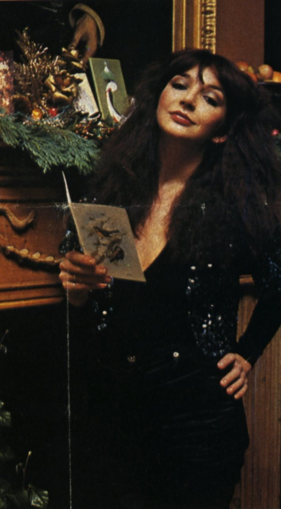 superseventies: Kate Bush, Christmas 1978. I love Kate Bush so much it is kind of a sickness with me.
