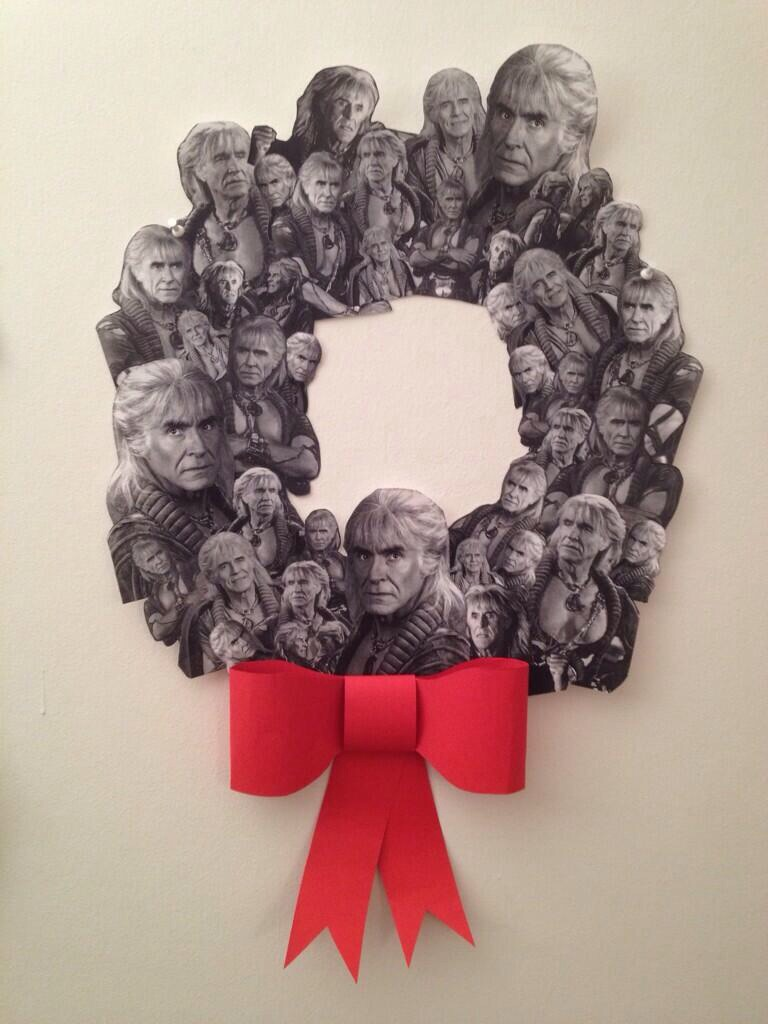 deepvneck: bkabbeko: The Wreath of Khan Shut it down. If you don't like this, you need to go to Liking School.