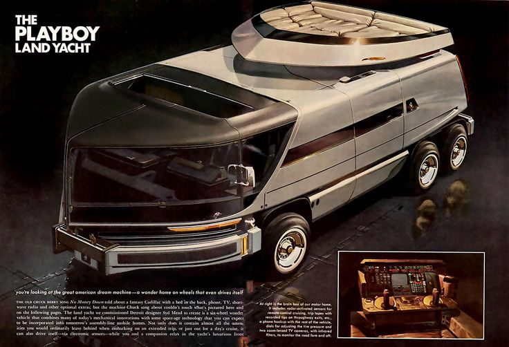 superseventies: The Playboy Land Yacht, 1975. Well, looks like I've found a new goal. LAND YACHT.