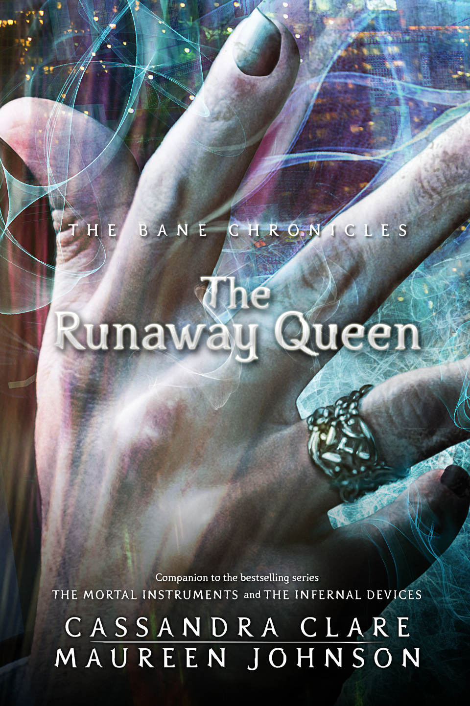 cassandraclare: The cover of the next of the Bane Chronicles: The Runaway Queen! Enjoy, my lovelies! Magnus, what a distinguished ring you have. THE STORY! SHE IS COMING FOR YOU! COMES OUT ON TUESDAY!