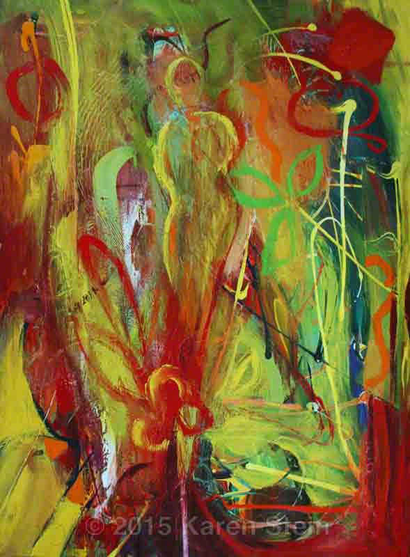Untitled 76  mixed media on paper  22x30 in.