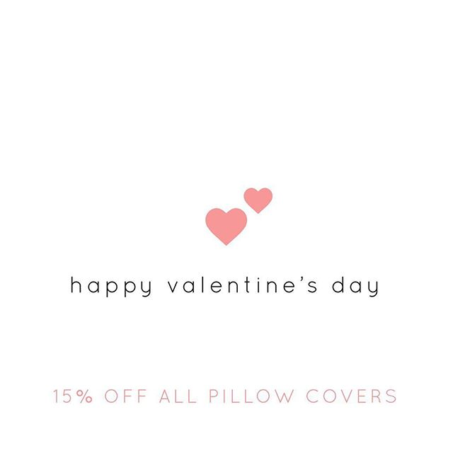 Happy Valentine's Day! 💕 All pillow covers are 15% off in the shop today!! . . . . #pillowlove #machinewashable #interior4all #shopsmall #midwestisbest #homedecor #decorlove #throwpillowsfordays #etsyseller #smallbusiness #smallbiz #livecolorfully #pillowlover #interiordesign #homesweethome #softpillows #throwpillows #foryourhome #nebraskagram #hygge #thatsdarling #thesablefox #throwpillowcover #lumbarpillow #interiorinspo #etsyshop #valentinesdaysale #valentinesgift #pinkpillows #etsysale