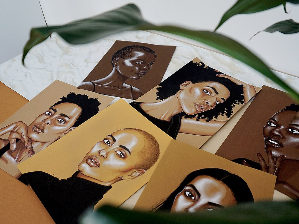 South Sudan, Ethiopia, Tanzania, Nigeria, Ghana and Eritrea represented in this new set of portraits