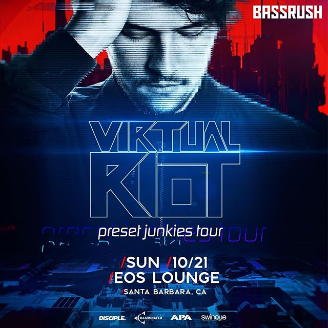 🌀NEW SHOW ANNOUNCEMENT🌀The bass is coming back to SB w/ @officialvirtualriot on October 21st!! Tickets on sale We'd @ 10 - link in bio📍