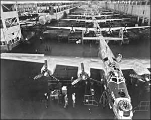 Willow Run Production Line