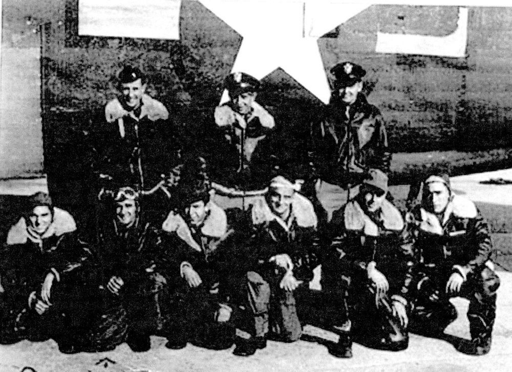 Heitz Crew, Harrison 2nd from left, front row