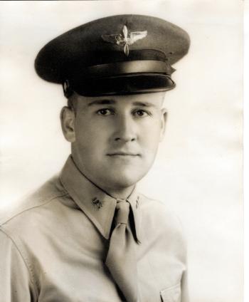 Maynard L. Jones as an aviation cadet