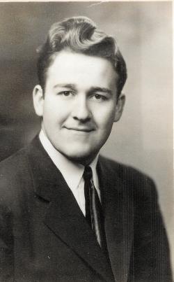 Maynard L. Jones, high school graduation picture