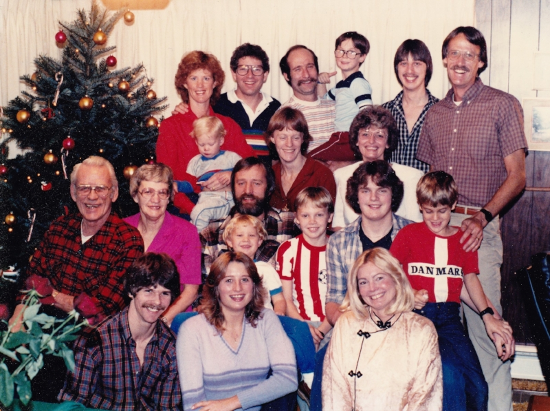 Bruland family,  early 1990s