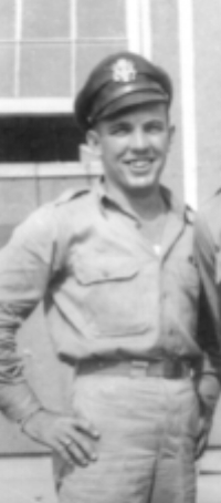 Lt. Bill Brown, Calvin Hess's original copilot was critically injured a month before the Kassel Mission. Somehow, Brown was in possession of the jacket after the war. Photo from KMHS collection