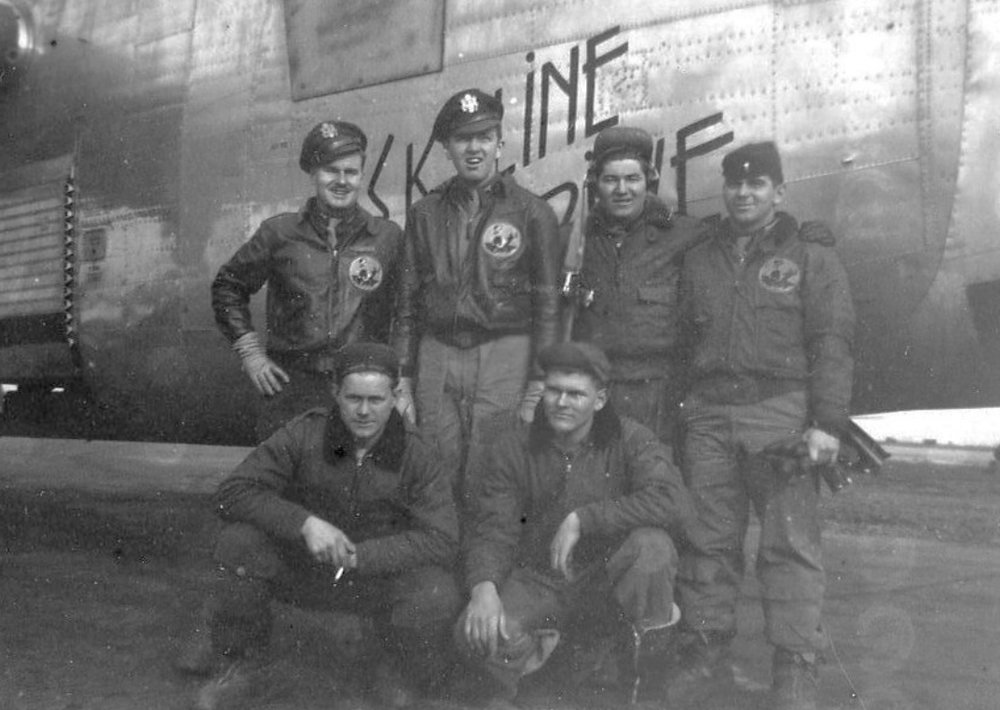Dewey Crew after Kassel Mission