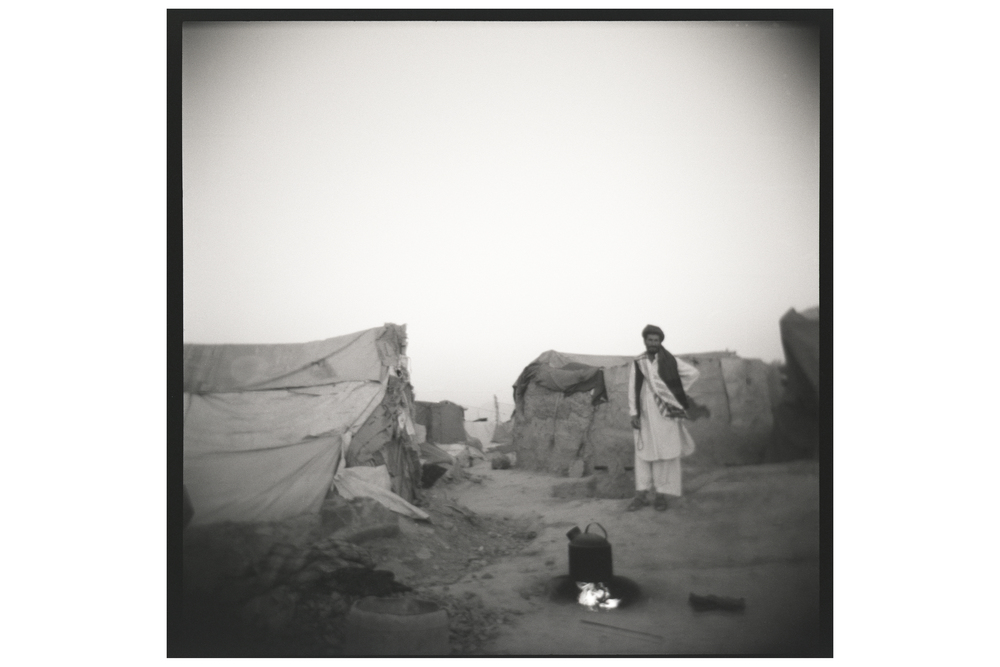 A camp for internally displaced people outside of Kabul, Afghanistan. September 2011