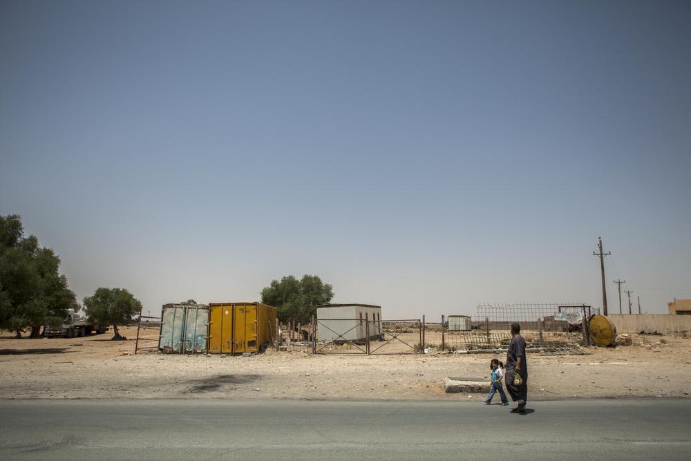 Somewhere between Jadu and Rahibat, Libya. July 15, 2011.