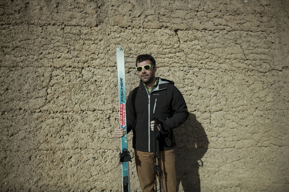 Western competitors also participate in the Ski Challenge. Though the extreme altitude worked against them. Koh-e-Baba Mountains, Afghanistan. March 2, 2012.