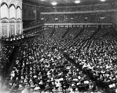 John Philip Sousa Band Concert -December 5, 1921, in Denver, Colorado