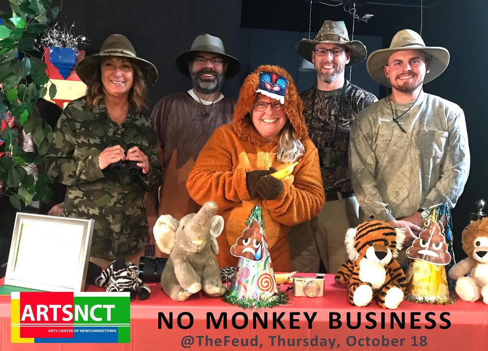 No Monkey Business: Team from our FEUD on October 18, 2018