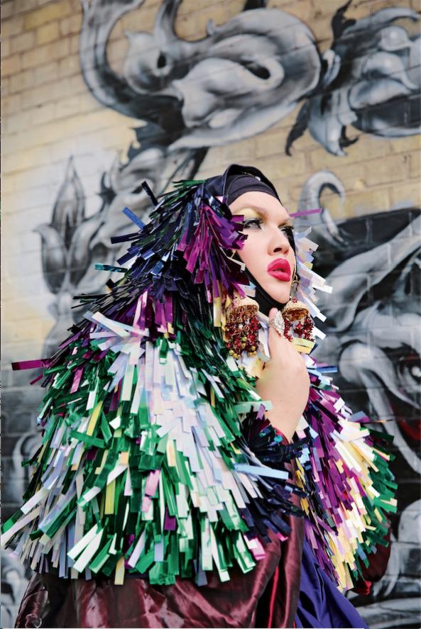Daniel Lismore, Artist, Fashion Designer, Stylist & campaigner Copyright Maryam Eisler & Transglobe