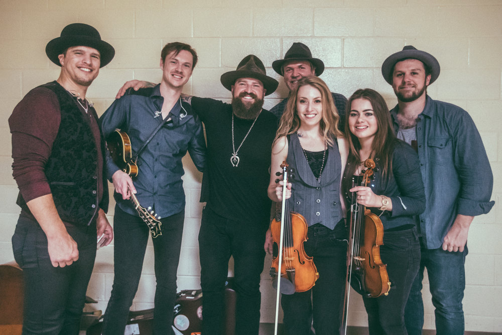 "Zac Brown and O'Connor Band  ""Welcome Home"" Tour  Photo by Southern Reel"