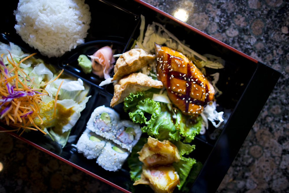 Kabuki Special with Salmon Teriyaki