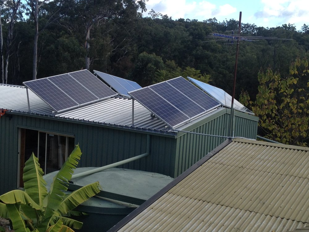 Karen's 3kw system In Nothern NSW, runs her home based business as well
