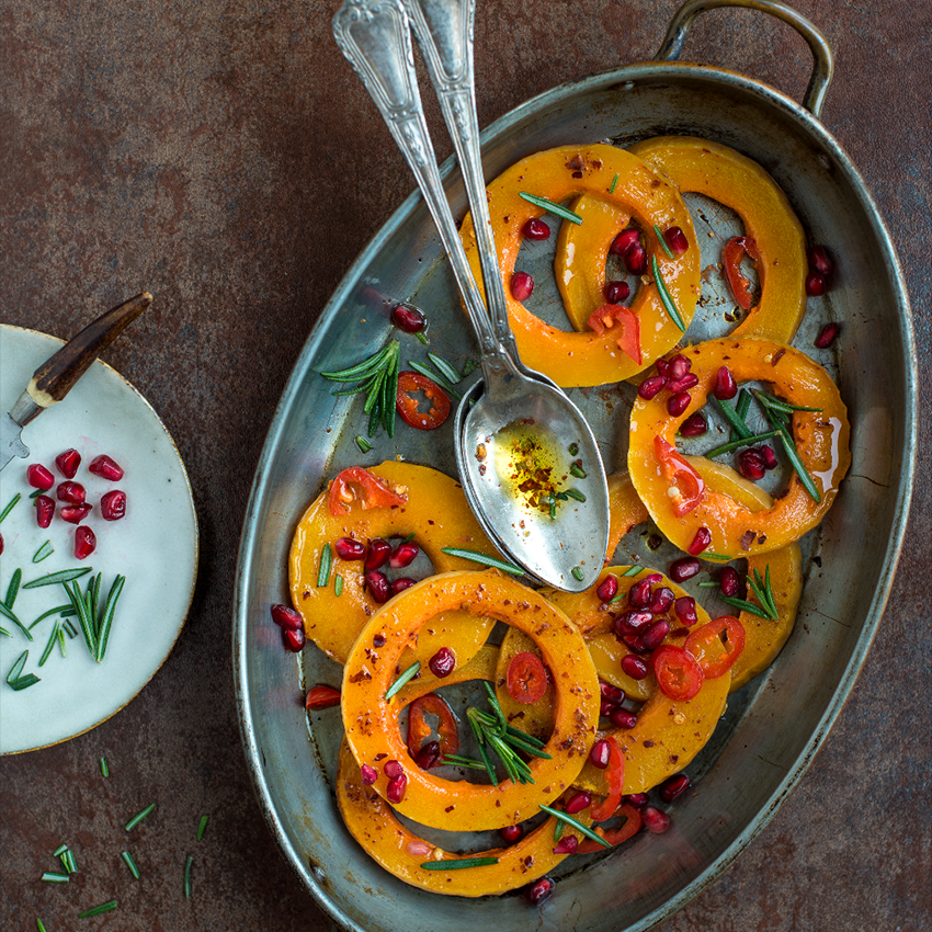 Roasted Butternut Bake by Karolina Weircigroch