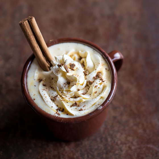 Pumpkin Pie Hot Chocolate by Karolina Weircigroch