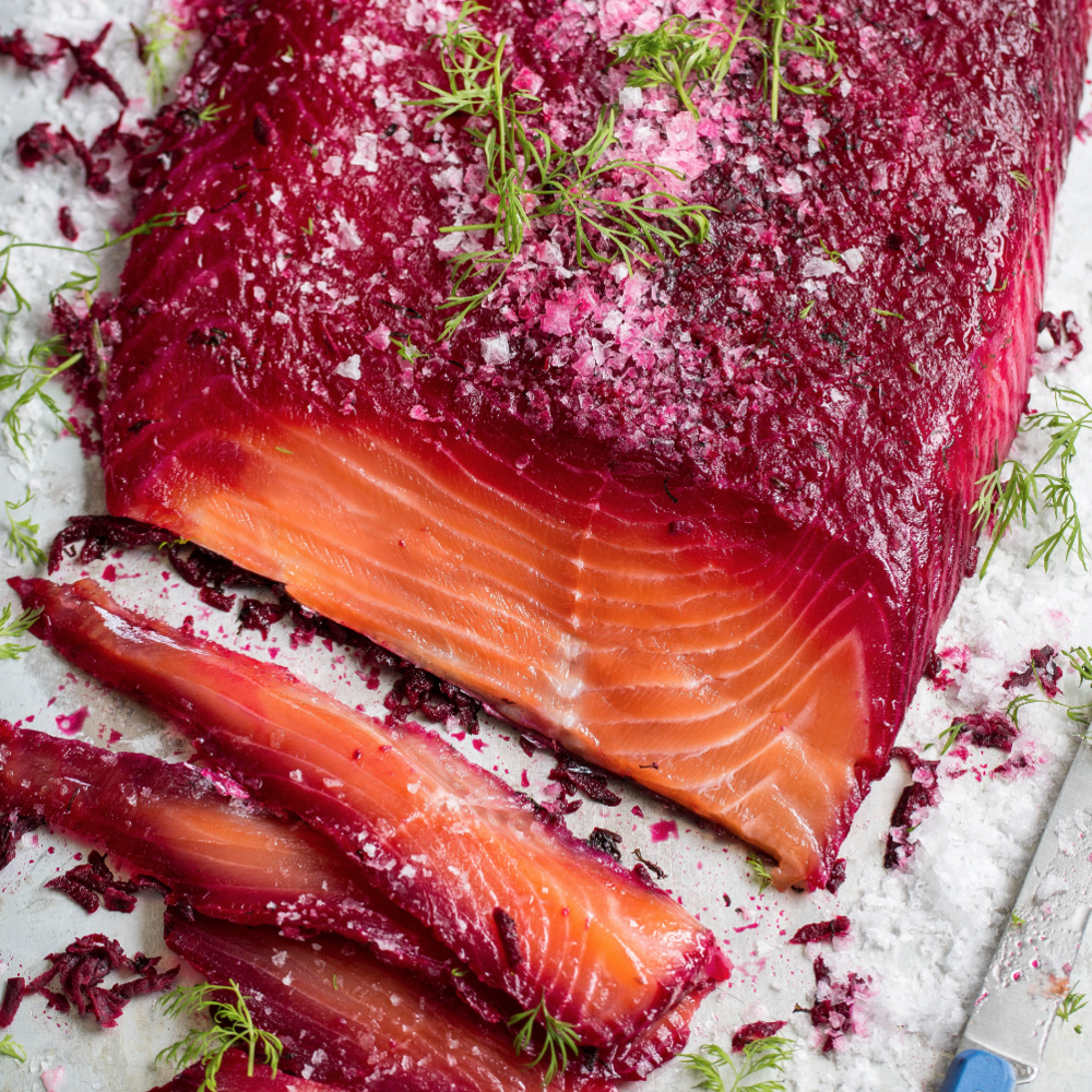 Beetroot Gravlax by Ann Reynolds