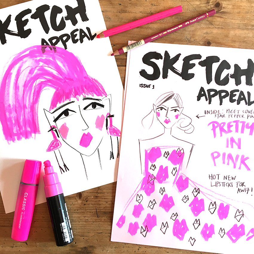 THURS 19TH APRIL -  THE FASHION SKETCHUP  - YORK