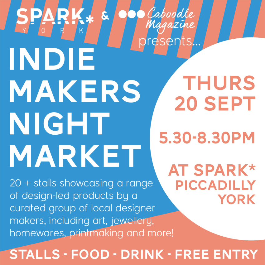 THURS 20TH SEPTEMBER -  INDIE MAKERS NIGHT MARKET