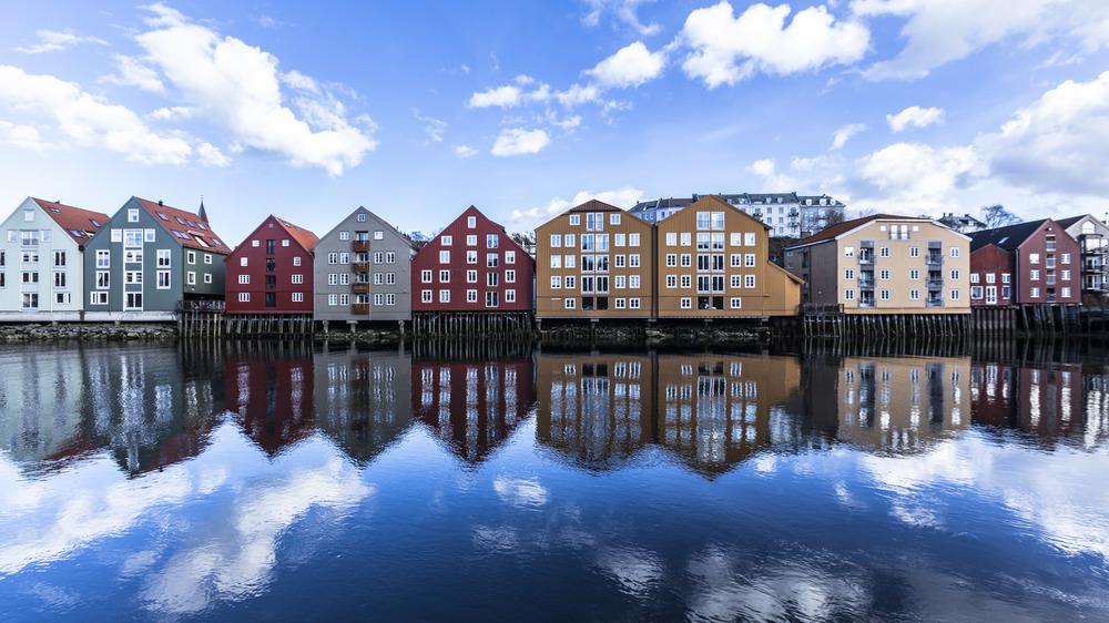 Bakklandet-trondheim-sven-erik-knoff-Norge-norway