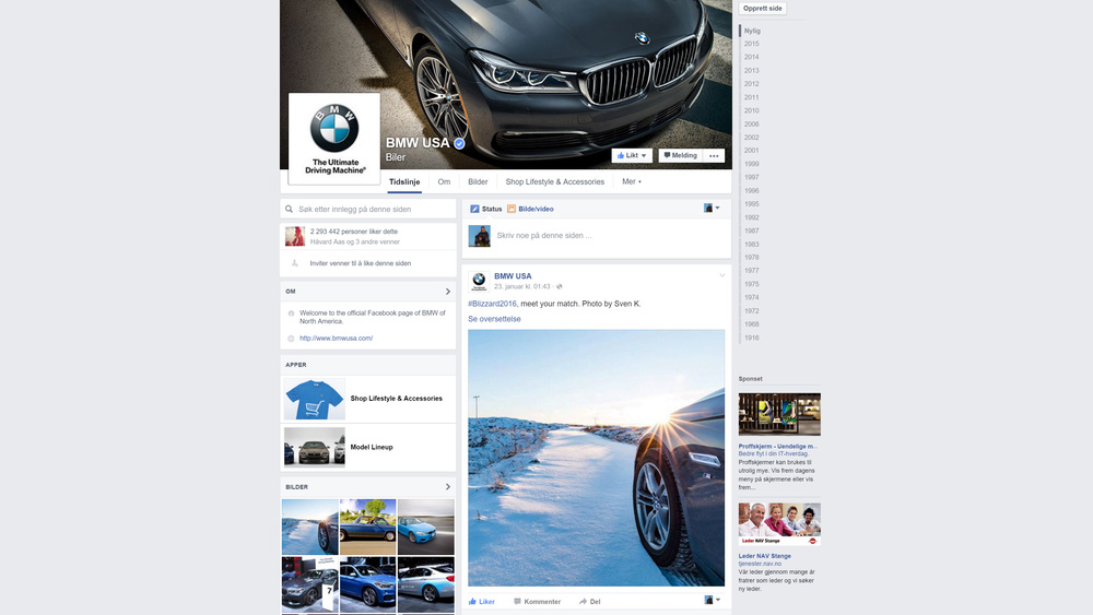 Blizzard2016 Meet Your Match Photo Used In Social Media By Bmw