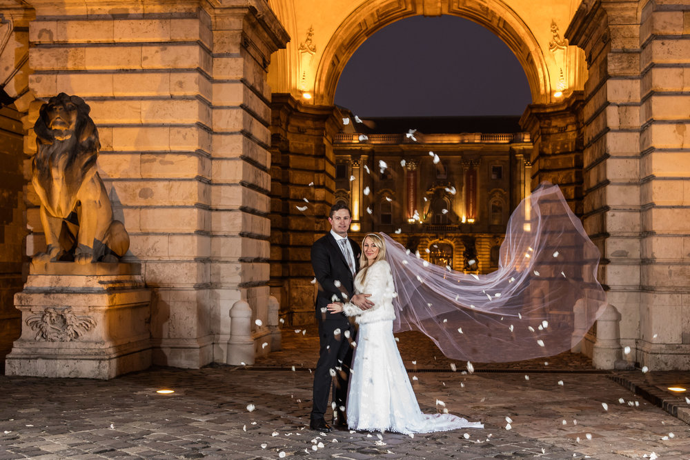 Wedding shoot in Budapest, Hungary.