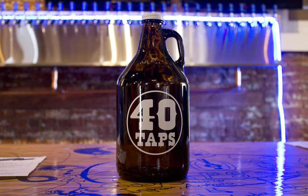 Can't stick around? Grab a growler to go.