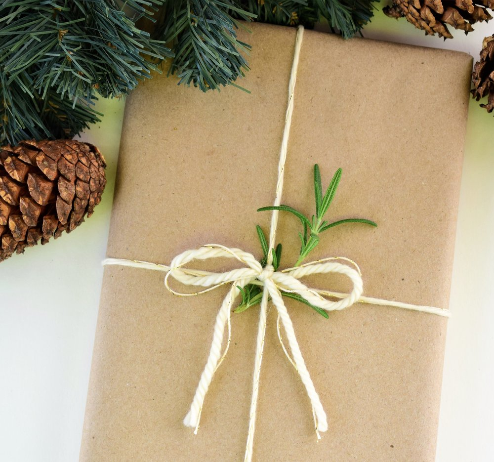 GIFT WRAPPING - LEAVE THE WRAPPING UP TO US THIS HOLIDAY SEASON!