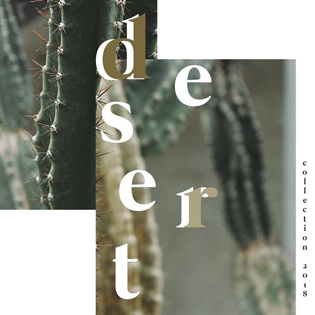 Have you heard that the  N E W Desert Collection will be dropping this June?? It includes natural wood tones, a sleek modern look and geometric designs.