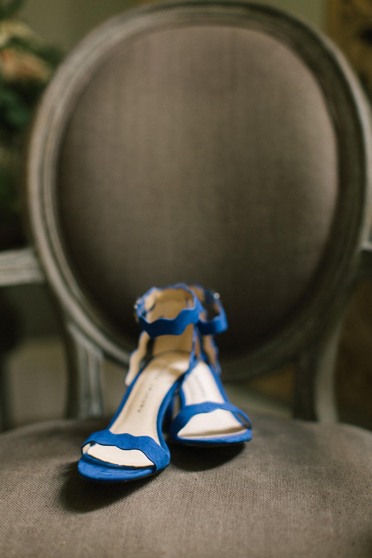 wedding shoes something blue