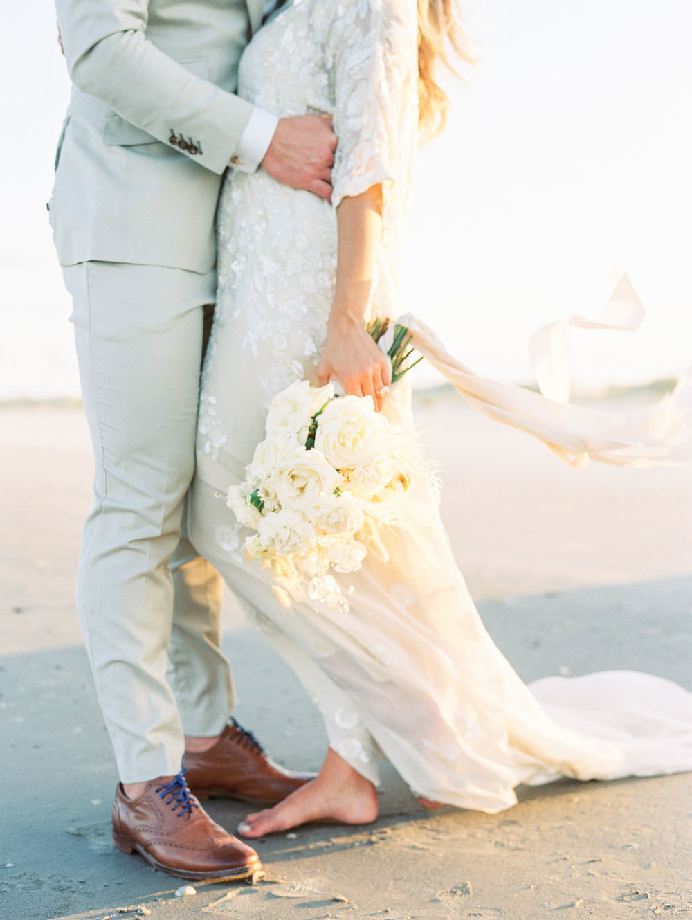 Romance on The Coast | Cumberland Island - Coastal wedding inspiration on the untouched and pristine Cumberland Island, GeorgiaPublished in Coastal Bride